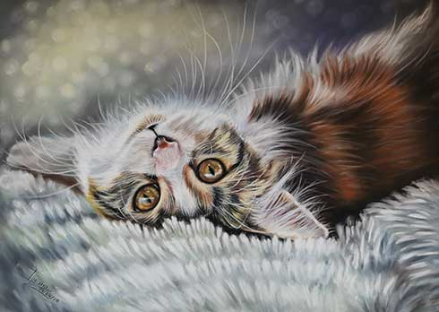 Cat Portraits by Irisha's Pet Portraits