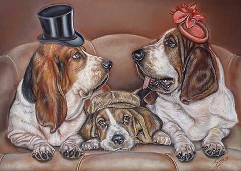 Family Dog Portrait